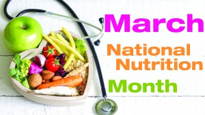 March National Nutrition Month 2016