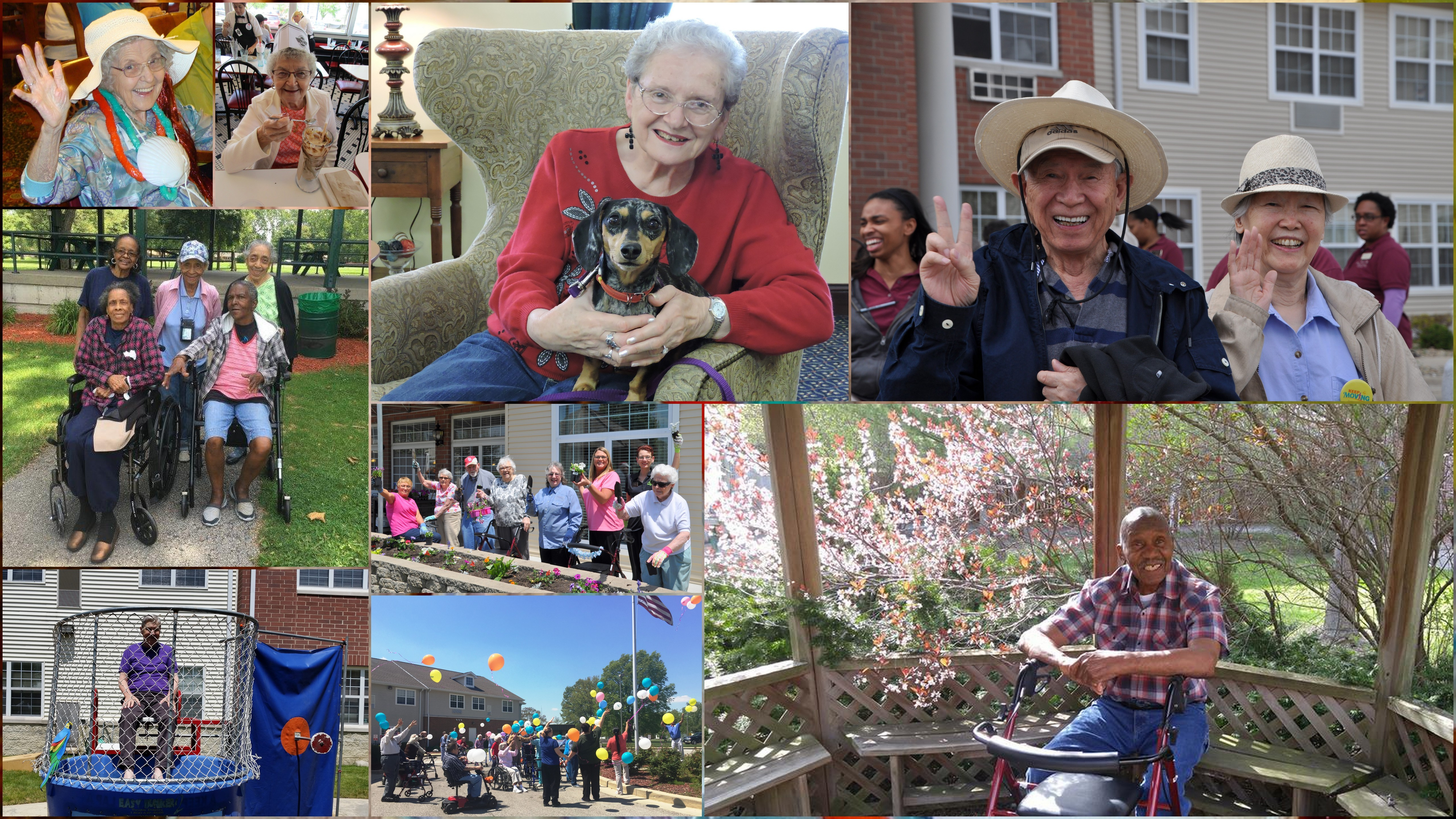 These photos from Gardant communities received an honorable mention in the 2016 AALC Photo Contest.