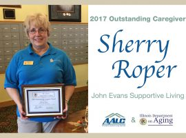 2017 Outstanding Caregiver Award - Sherry Roper