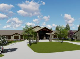 Rendering for The Lodge at Manito