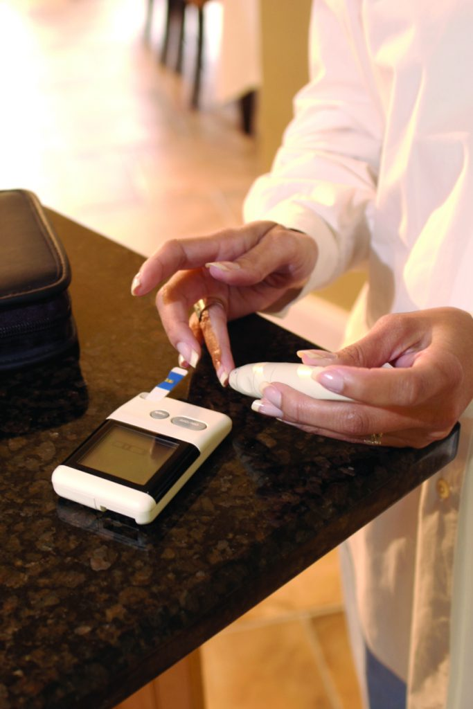 diabetes-prick-finger