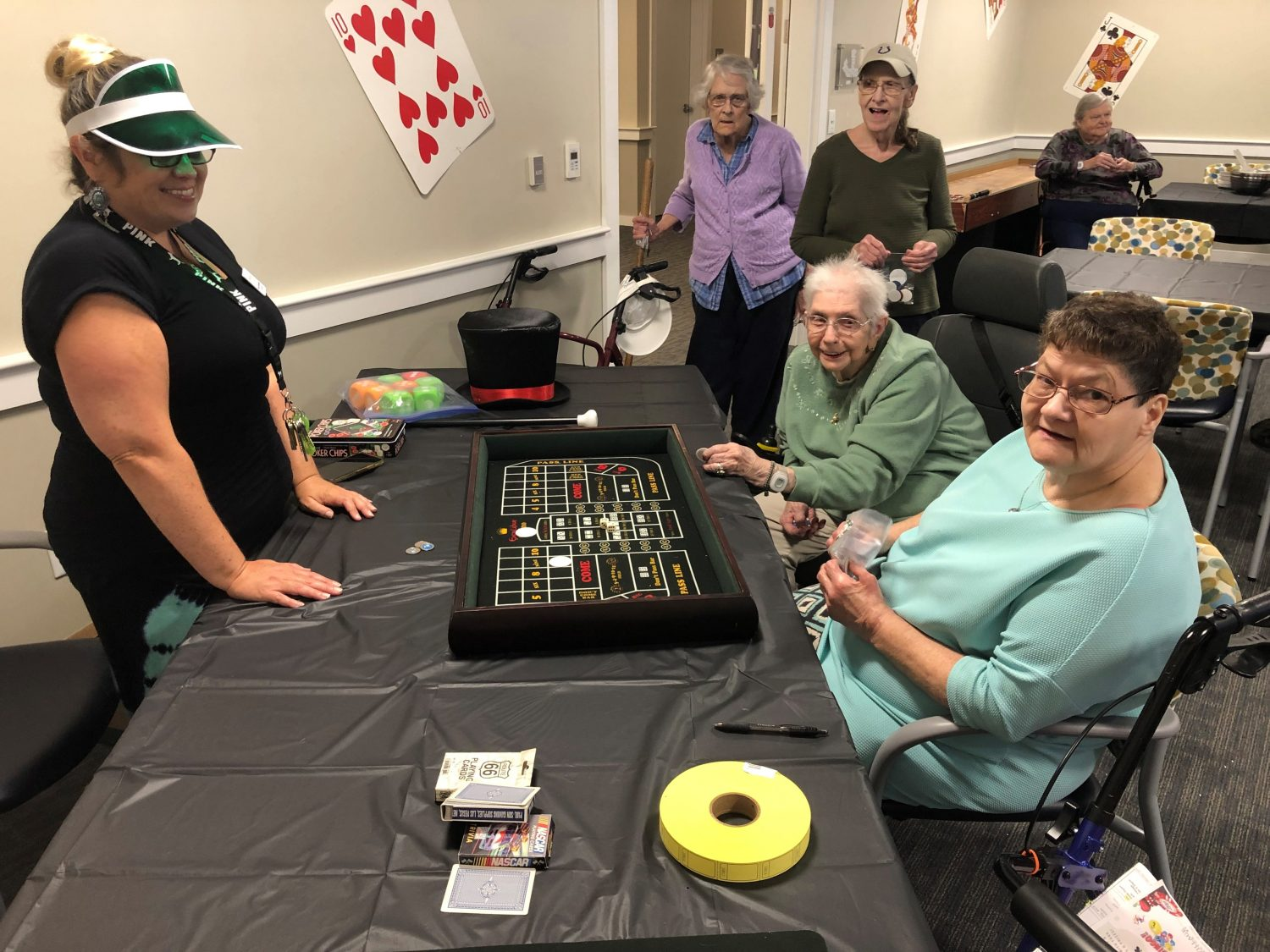Vegas-Style Assisted Living Week Celebration
