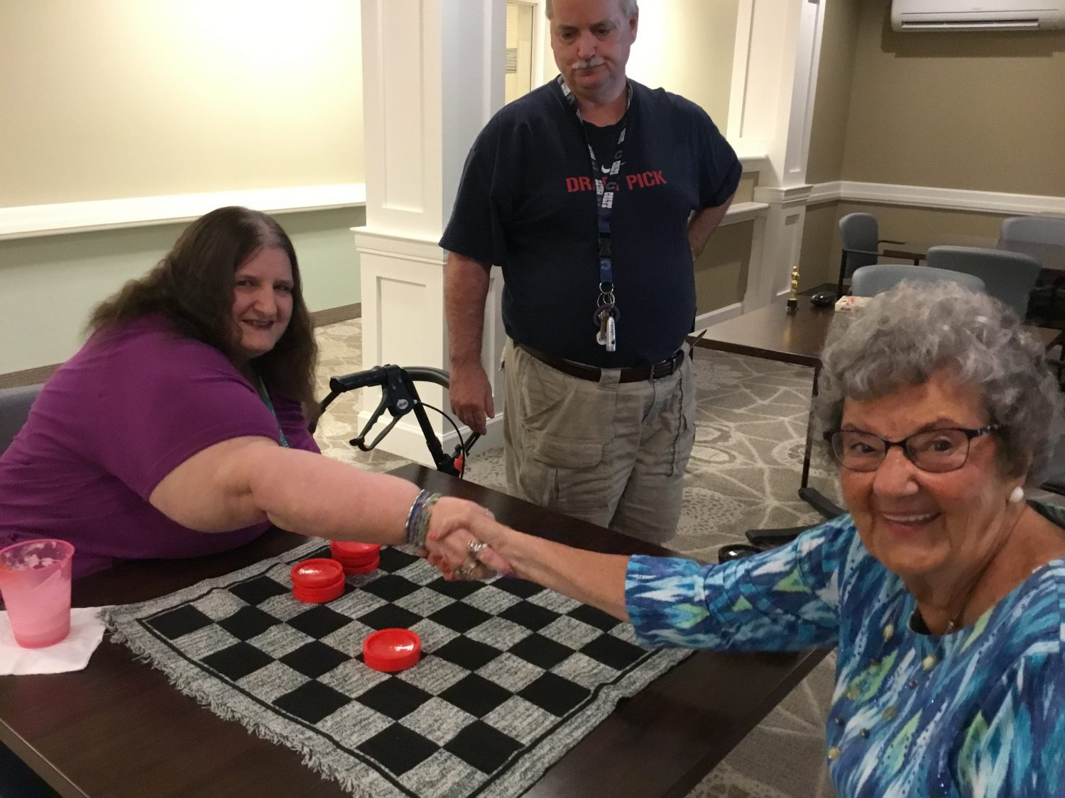 Checkers Tournament Sparks Friendly Competition