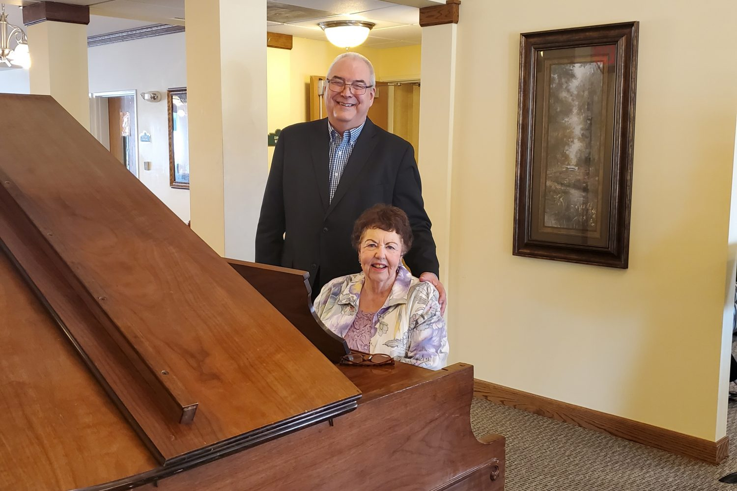 Heritage Woods Resident Shares Love of Music