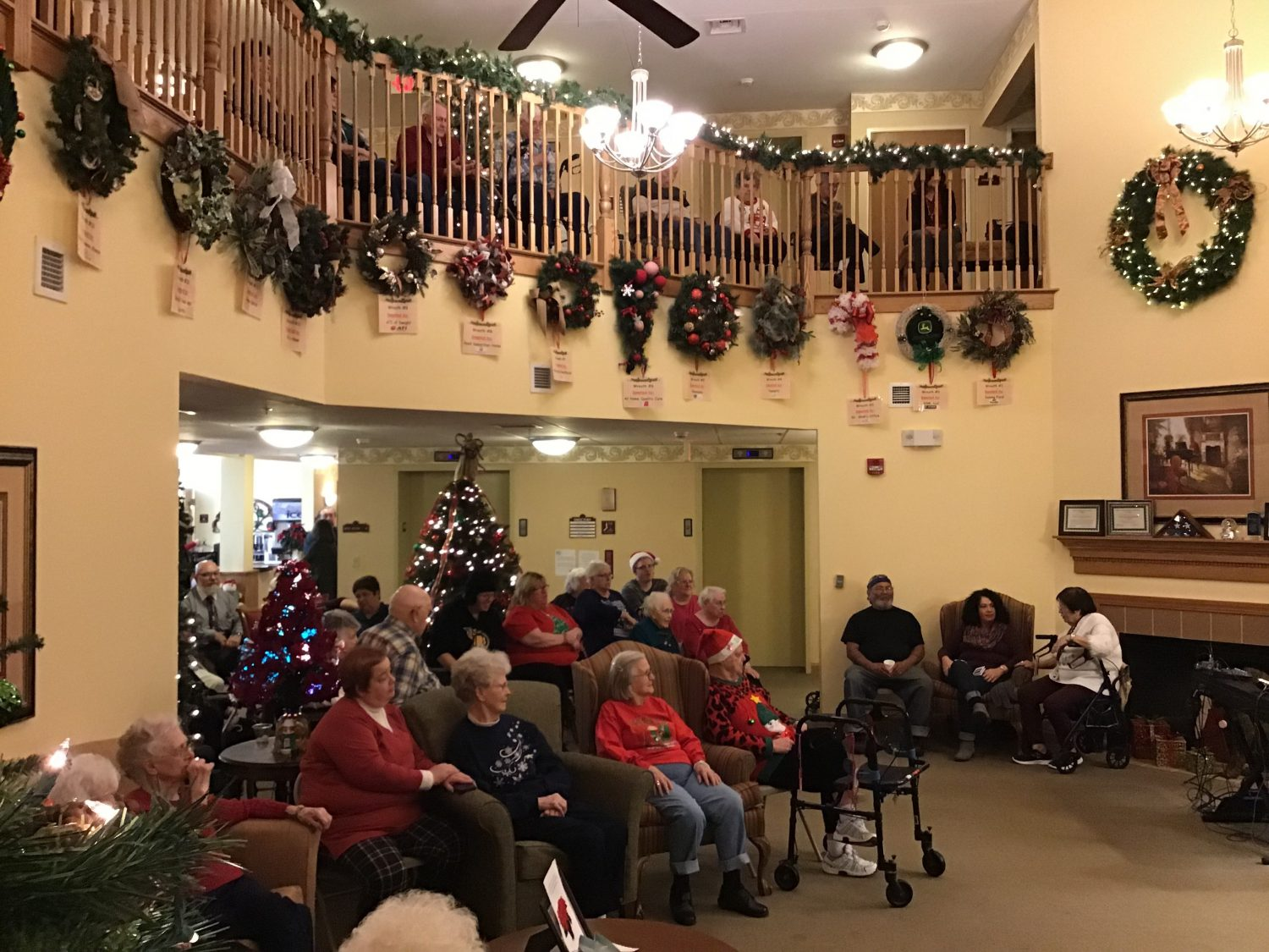 Christmas Party a Hit with Residents and Families