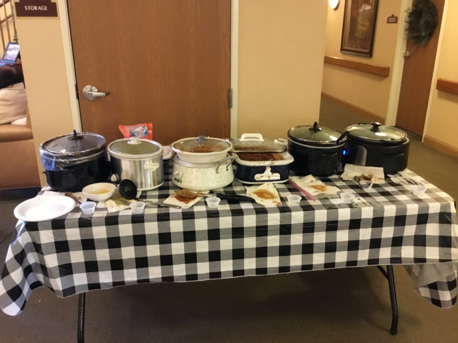 New Year Heats Up with Chili Cook-Off
