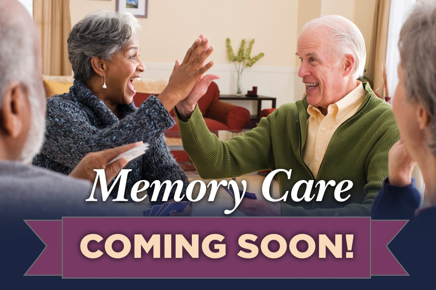 John Evans Receives Memory Care Approval