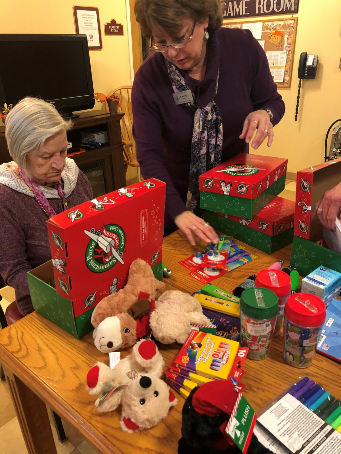 John Evans Gives Back Through Operation Christmas Child