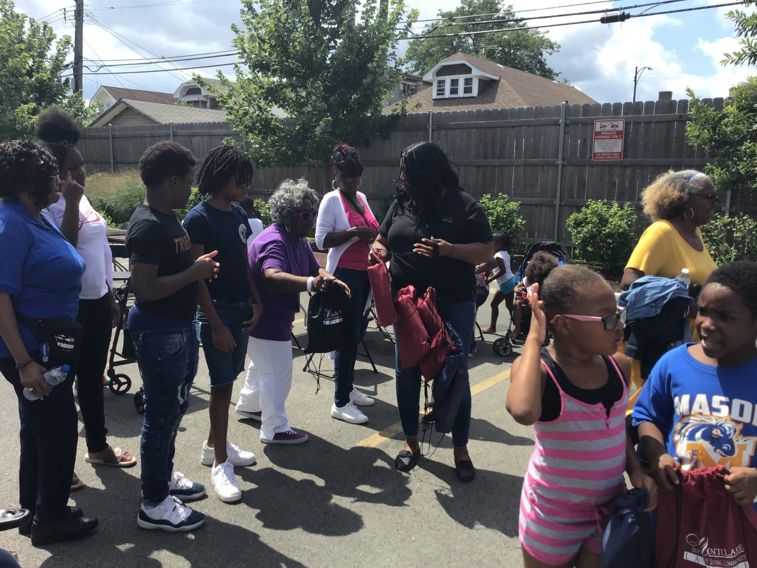 Montclare Hosts 2nd Annual Back to School Block Party