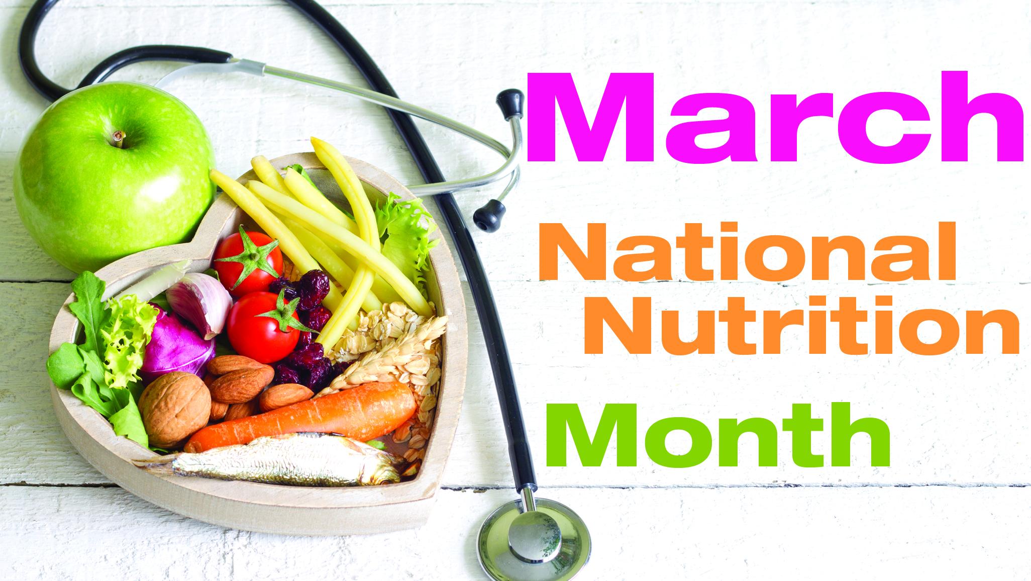 National Nutrition Month Eating Smarter